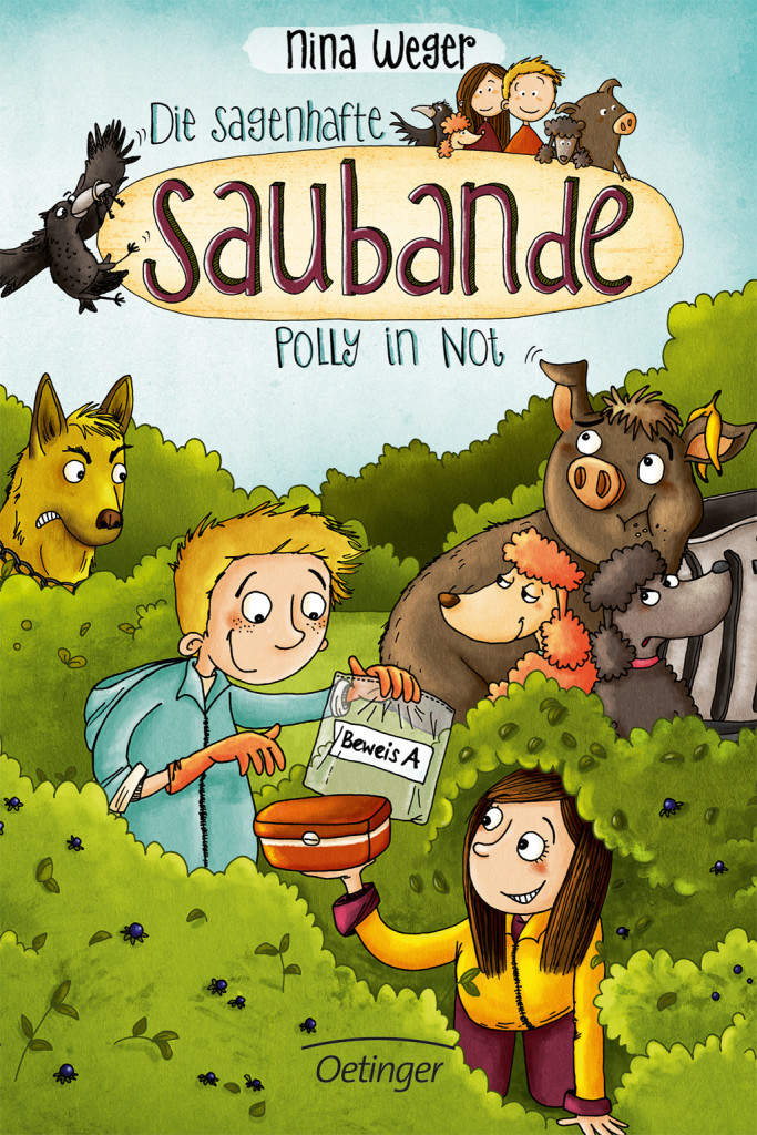 Die sagenhafte Saubande – Polly in Not