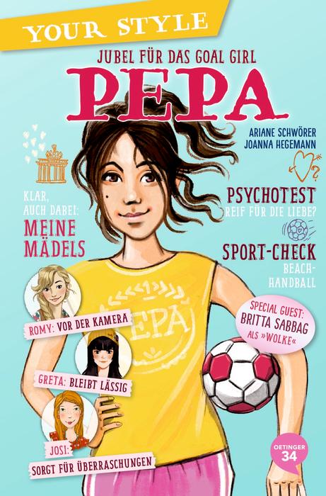 Your Style. Pepa – Jubel für das Goal Girl