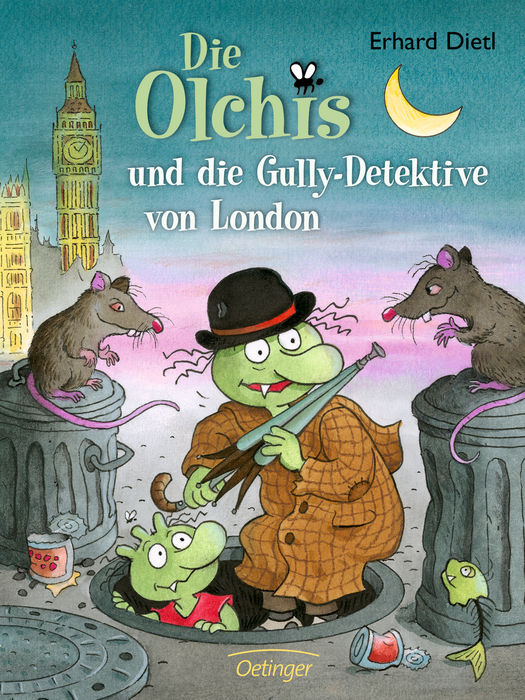 Die Olchis und die Gully-Detektive von London