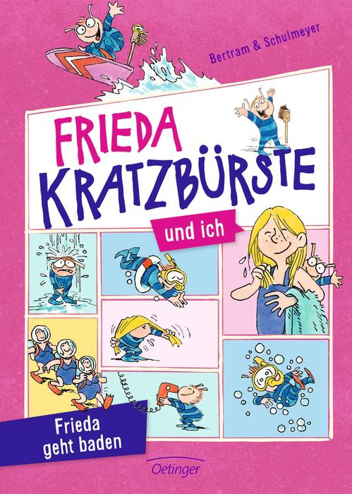 Frieda Kratzbürste und ich – Frieda geht baden